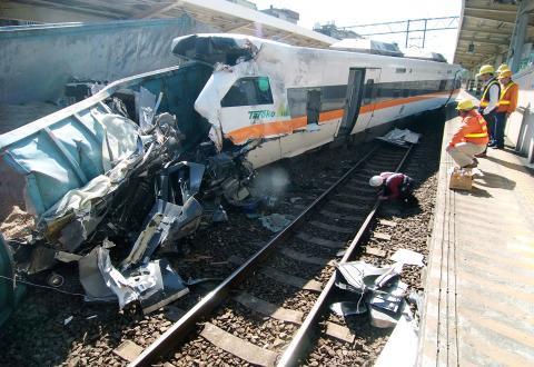 incidente treno taiwan