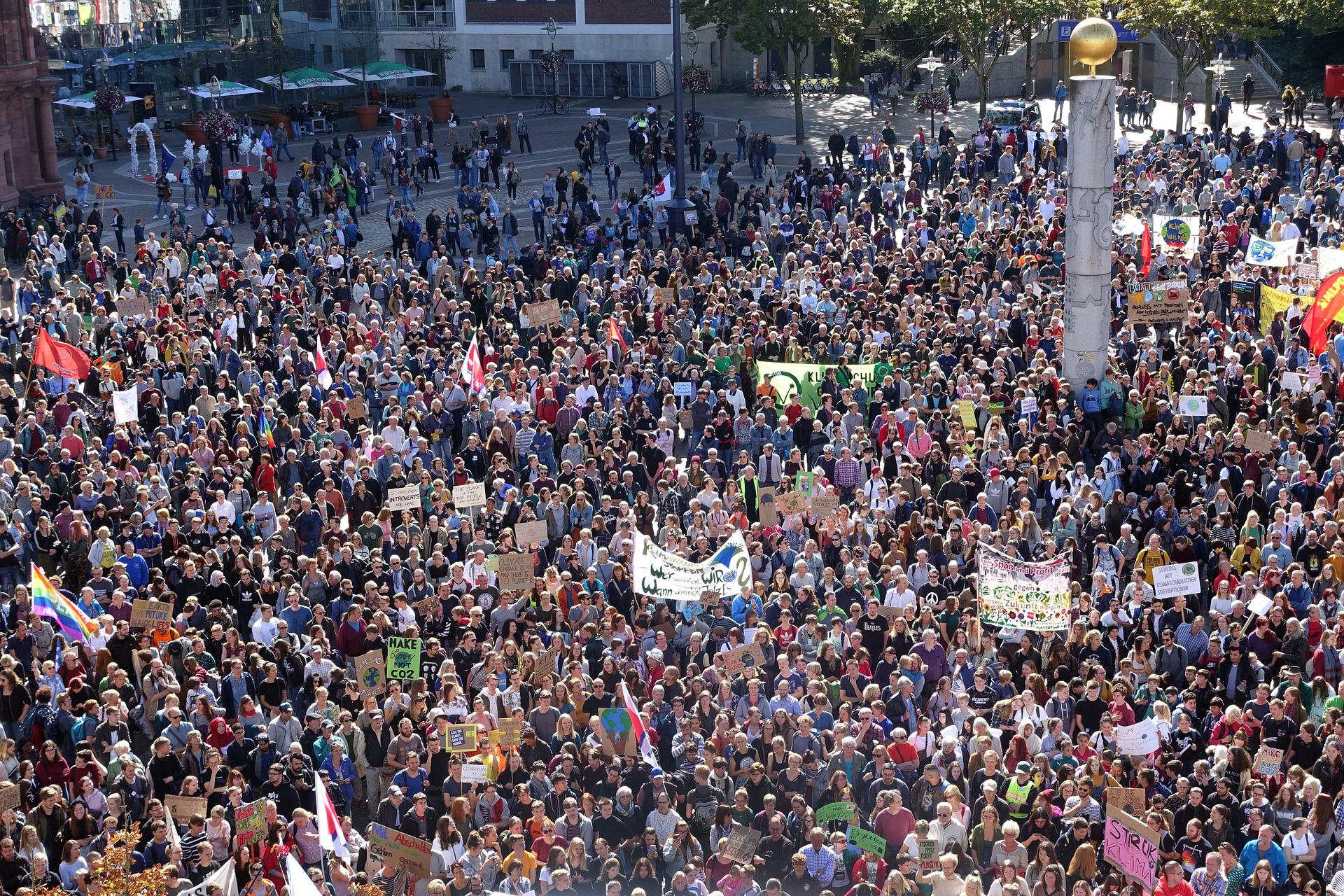 L'Italia protesta