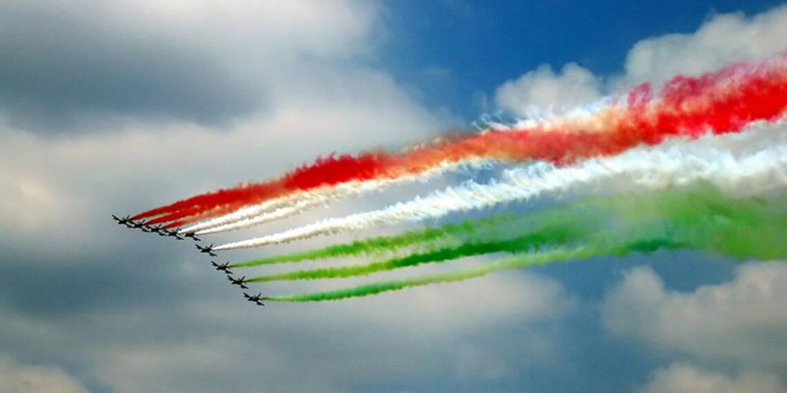 Frecce Tricolori in occasione della Festa della Repubblica